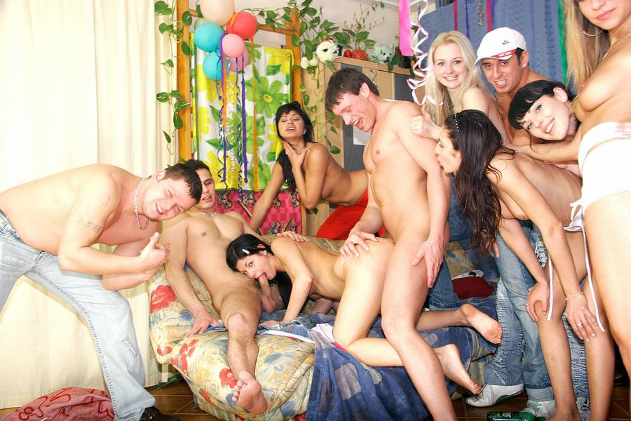 Teen Bondage Gangbang Birthday