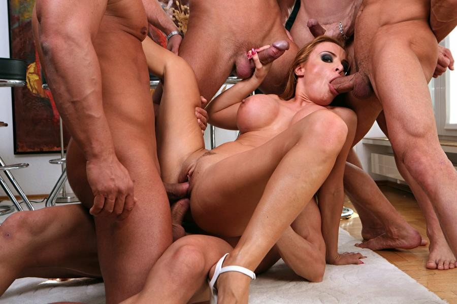 gangbang video slut