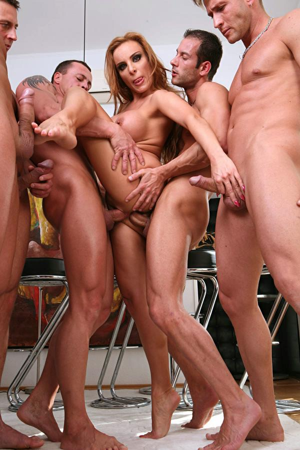 Angel dark group sex
