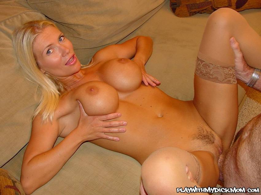 en video hot blonde seduces step son into fucking her wet pussy