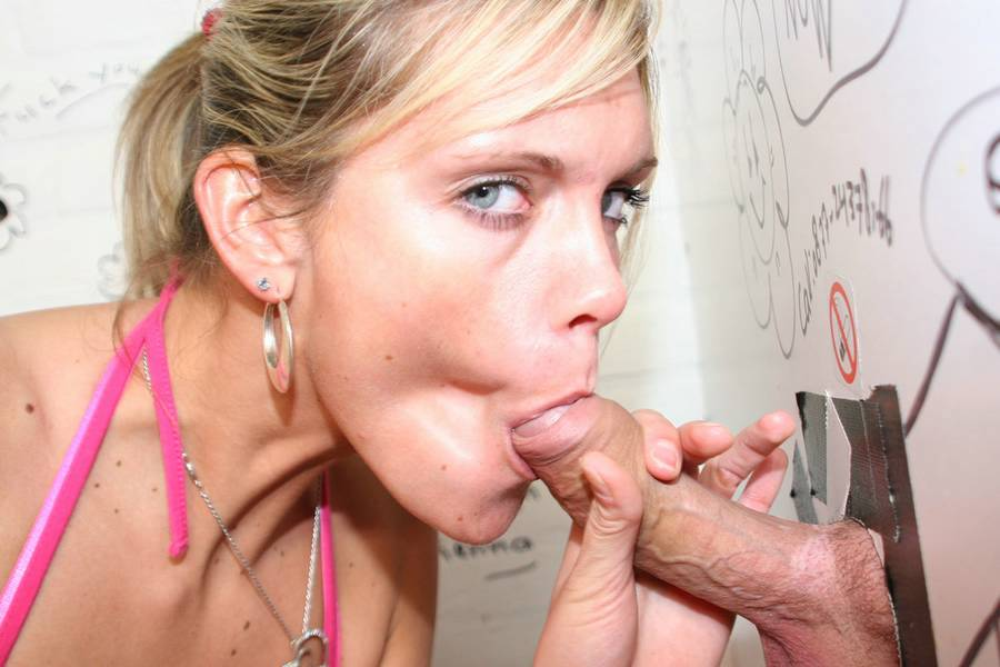 oral sex video gloryholes