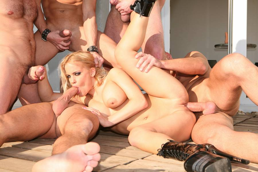 Apologise, but Gangbang group action