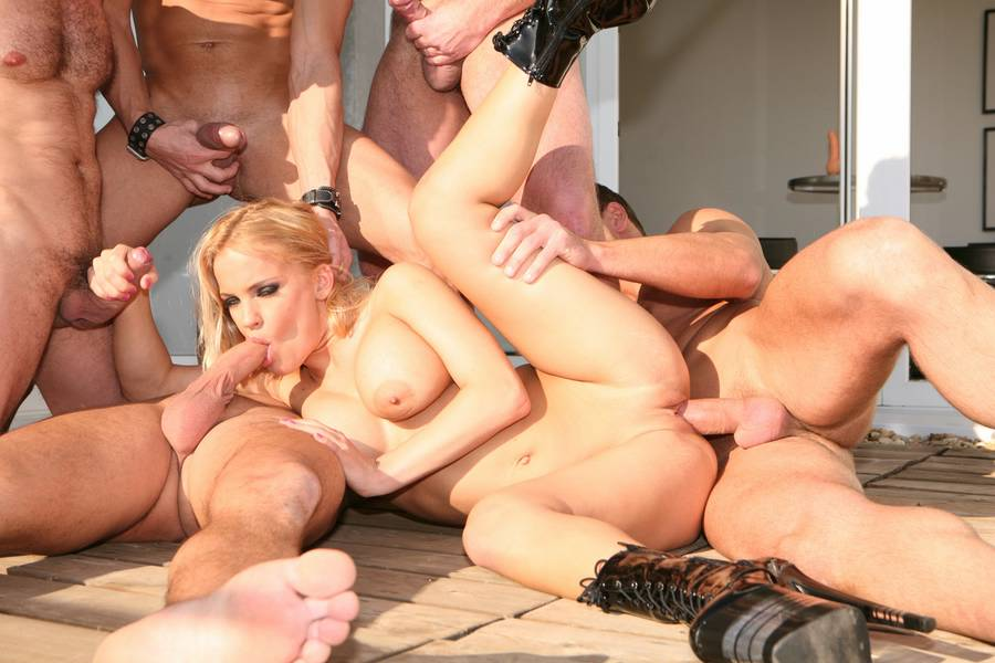 Excellent phrase gangbang group action