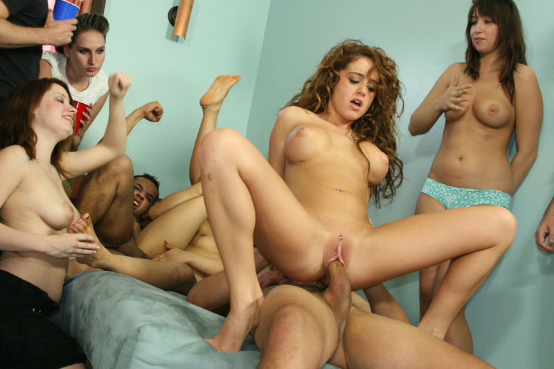 College sex wild party drunk